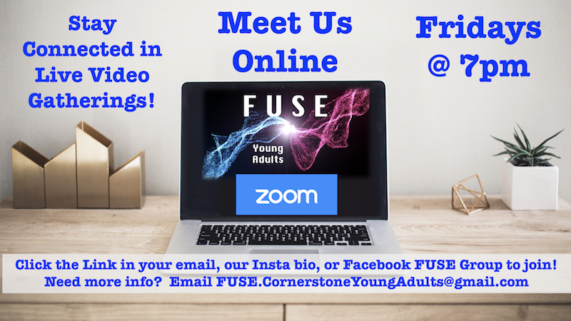 ZOOM MEETING-FUSE Young Adult Ministry