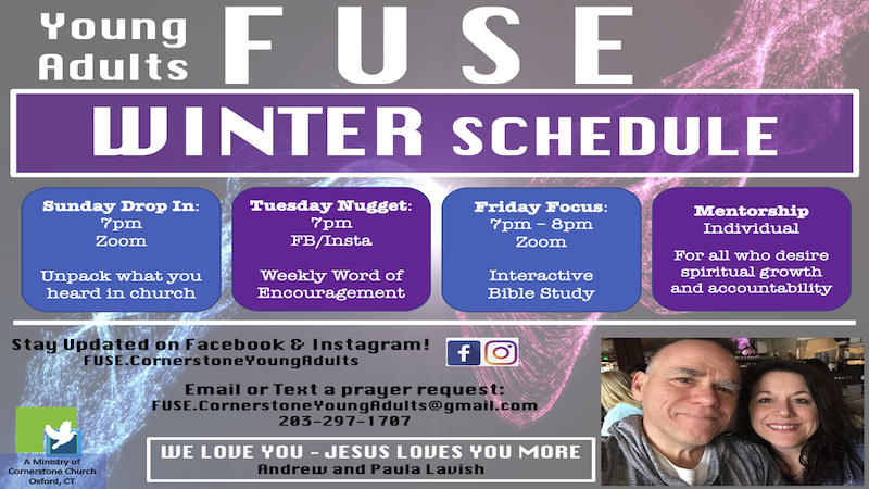 FUSE Young Adults - Sunday Drop In