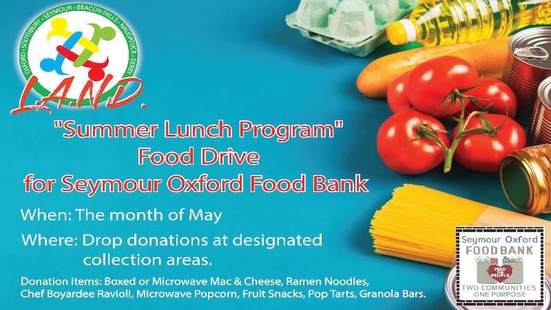 L.A.N.D. Summer Lunch Program Food Drive